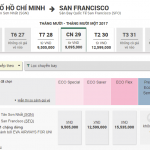 Vé Eva Air Hồ Chí Minh đi San Francisco giá rẻ