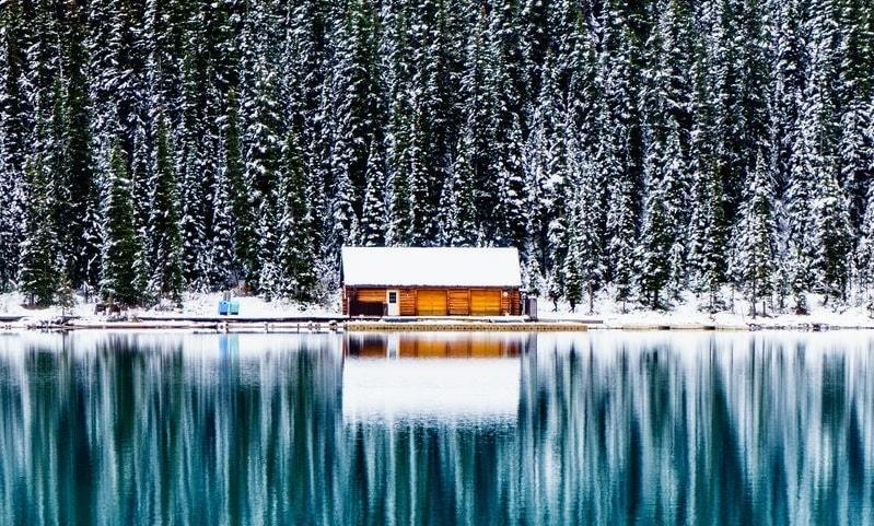Khung cảnh mùa đông ở Hồ băng đẹp nhất thế giới