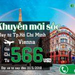 Eva Air mở bán vé đi Vienna chỉ từ 566 USD