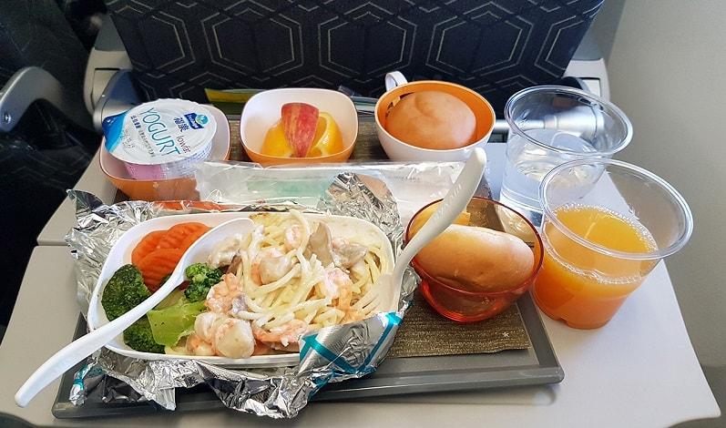 Lựa chọn suất ăn phù hợp trên chuyến bay Eva Air