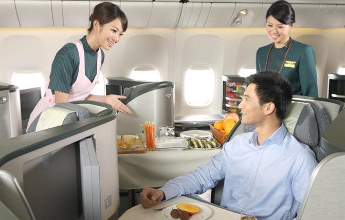 Các suất ăn của Eva Air