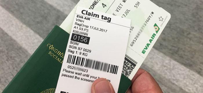 Giấy tờ cần thiết  khi check- in