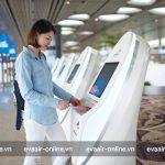 Tìm hiểu về quầy gửi hành lý tự động của Eva Air