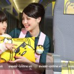 Quy định trẻ em đi một mình của hãng hàng không Eva Air