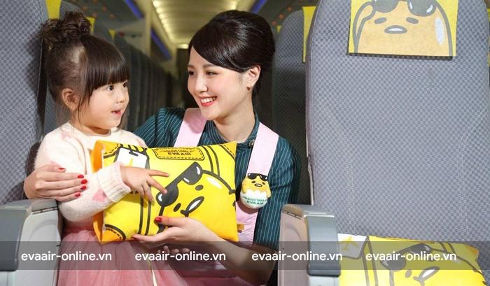 Trẻ em không có người lớn đi cùng trên chuyến bay