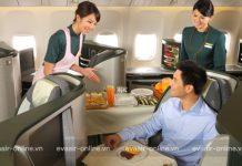 Suất ăn đặc biệt của Eva Air trên chuyến bay