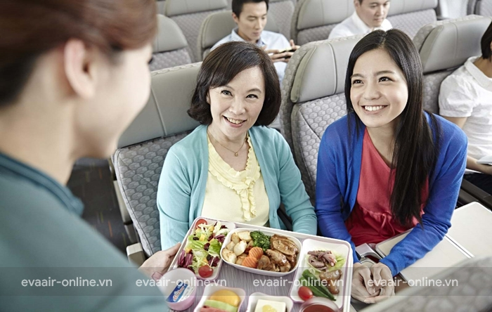 Bữa ăn theo chế độ y tế của Eva Air