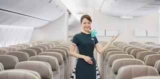 Đặt chỗ ngồi trên máy bay Eva Air