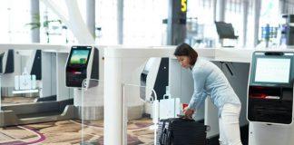 Quầy gửi hành lý tự động của Eva Air