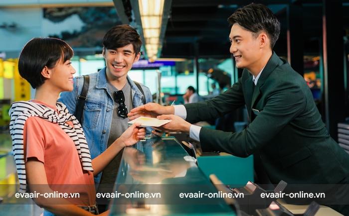 Hướng dẫn đổi ngày bay - ngày bay của Eva Air