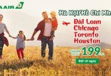 Tháng 3 Eva Air khuyến mãi vé máy bay chỉ 199 USD